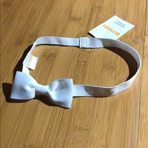 NWT Gymboree headband white OS